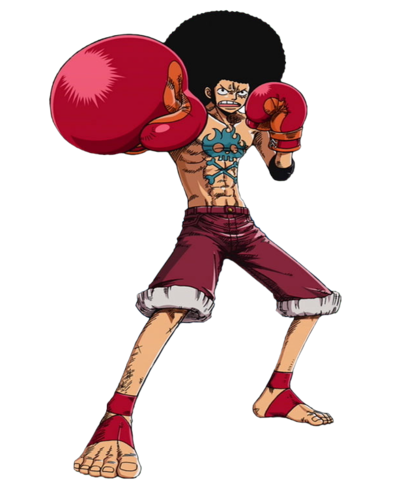 Afro Luffy!