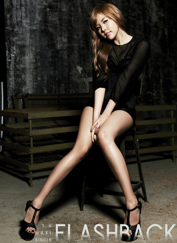 """after school wallpaper possibly containing bare legs, a hip boot, and tights titled After School Raina """"Flashback"""" pic teaser"""