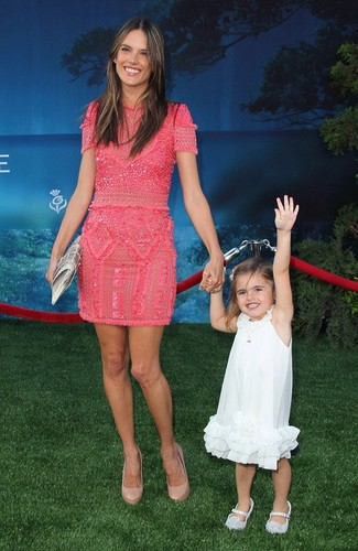 "Alessandra Ambrosio's Amazing Post-Baby Body at ""Brave"" Premiere"