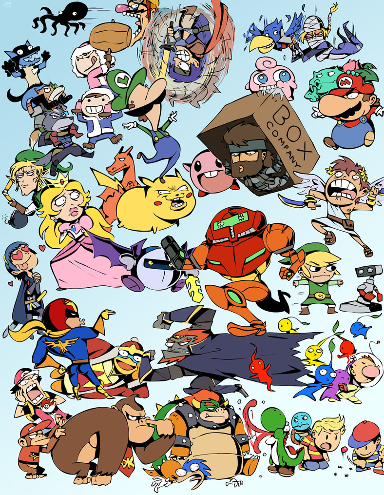 All Them Smash Bros.