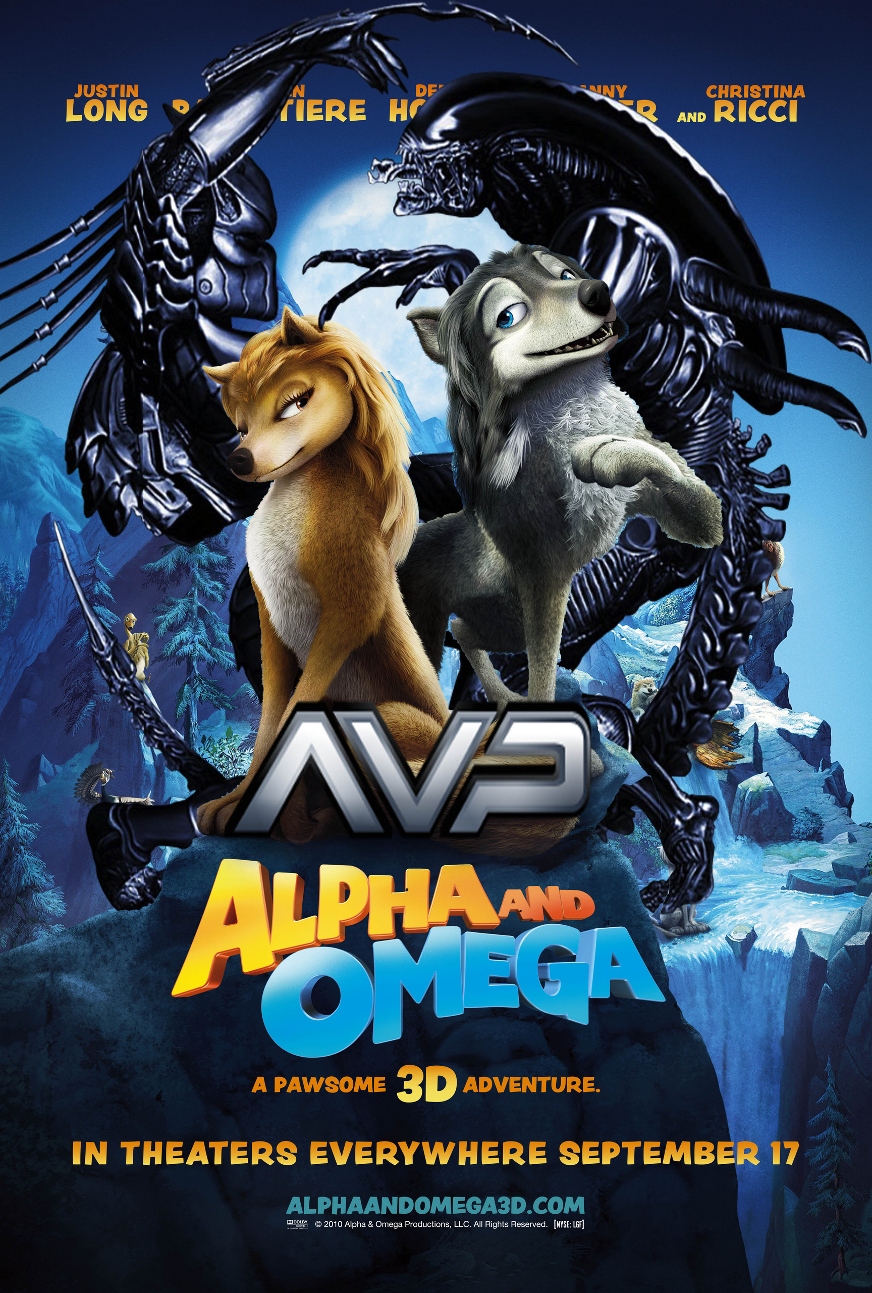 Alpha and Omega: Alien vs. Predator