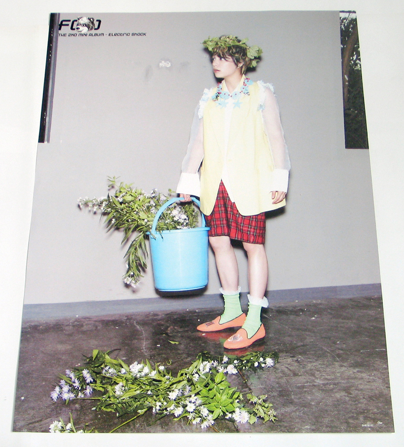 Amber @ Electric Shock Individual Poster - F(x) Photo ... F(x) Electric Shock Amber