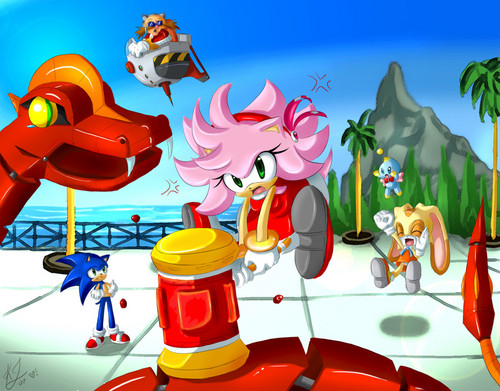 Sonic the Hedgehog wallpaper titled Amy Rose