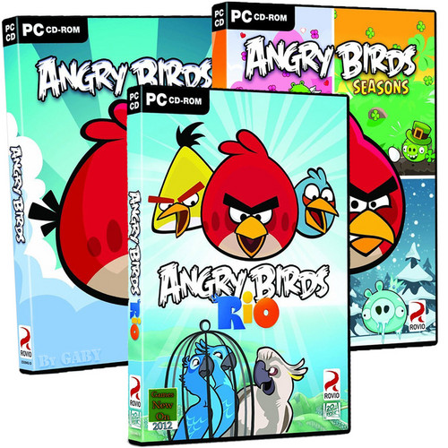 Angry Birds CD ROM