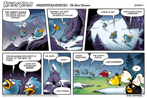 Angry Birds Comic Seasons Рождество part 3