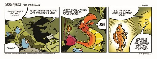Angry Birds Seasons Dragon Comic part 11