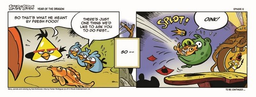 Angry Birds Seasons Dragon Comic part 12