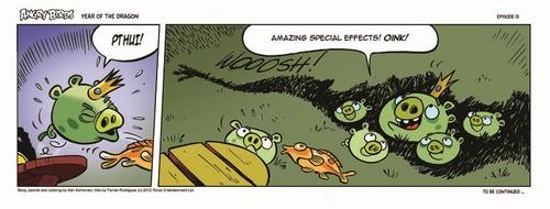 Angry Birds Seasons Dragon Comic part 13