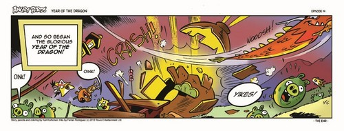 Angry Birds Seasons Dragon Comic part 14 - angry-birds Photo