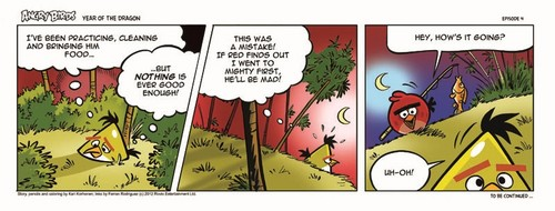 Angry Birds Seasons Dragon Comic part 4