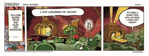 Angry Birds Seasons Dragon Comic part 6