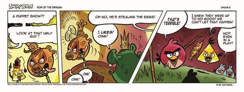 Angry Birds Seasons Dragon Comic part 8