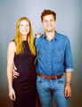Anna Torv and Joshua Jackson - anna-torv fan art