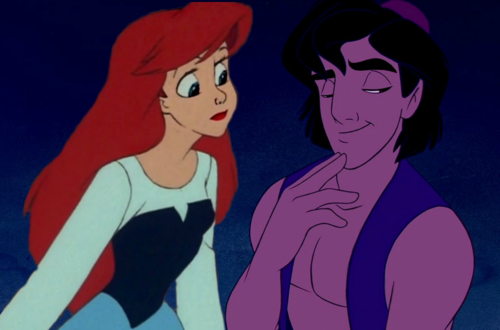 Ariel x Aladdin và cây đèn thần