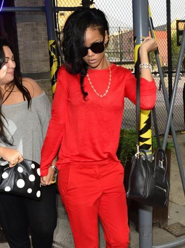 Arriving At Da Silvano Restaurant in New York City [13 June 2012]