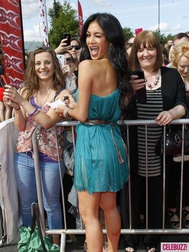 Arriving At UK's 'The X Factor' Auditions [18 June 2012]