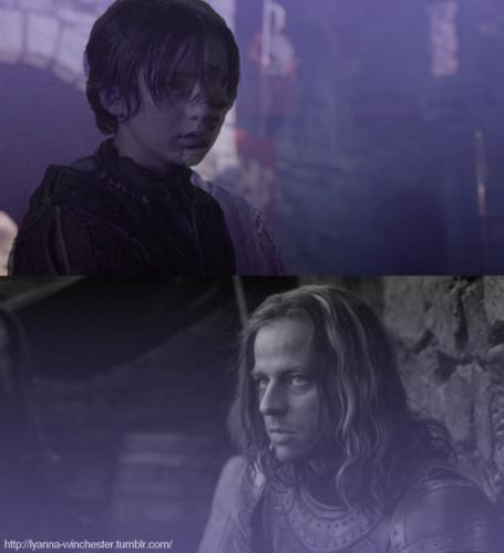 Arya & Jaqen