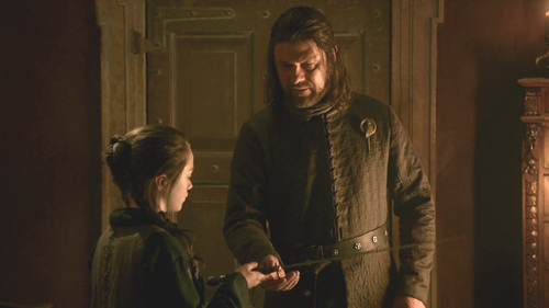 Arya and Eddard
