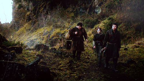 Arya and Gendry