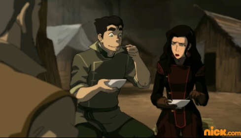 Avatar: The Legend of Korra wallpaper called Asami and Bolin
