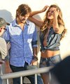 Ashton Kutcher and Alessandra Ambrosio teaming up for their sexy photoshoot for Colcci - ashton-kutcher photo