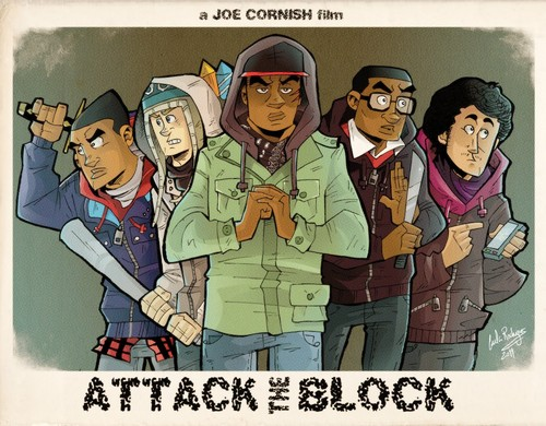 Attack the Block The Gang
