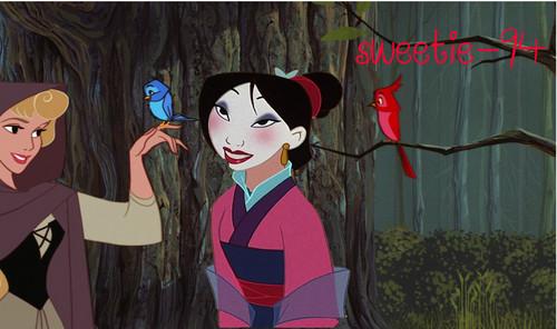 Aurora & Mulan