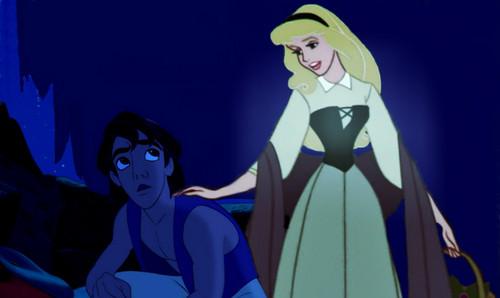 Aurora x Aladdin và cây đèn thần