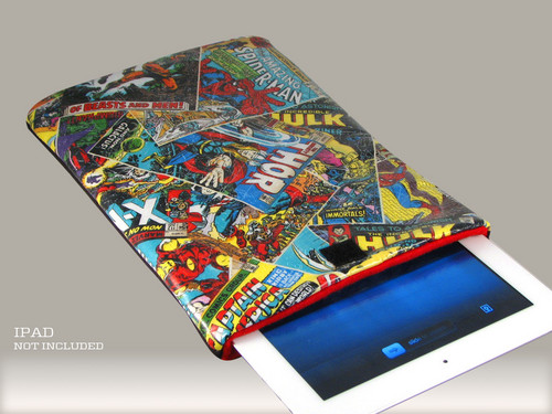 Avengers Comic Book Ipad Case