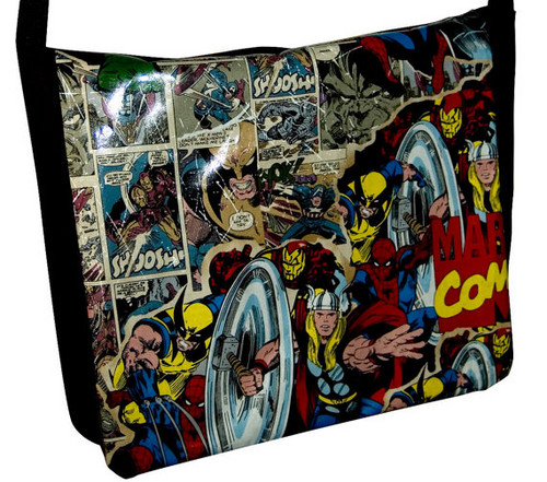 The Avengers karatasi la kupamba ukuta probably with anime titled Avengers Messenger Bag