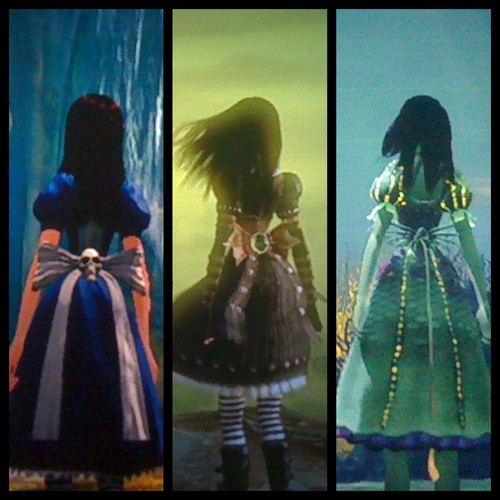 Back of the Normal, Stealth and water dress