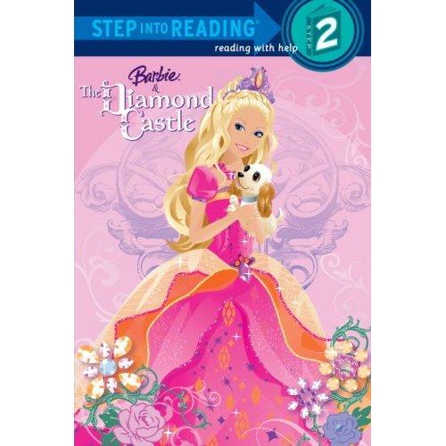Barbie and the Diamond istana, castle book