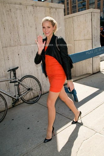 Shantel VanSanten wallpaper probably containing a velocipede, a street, and a hip boot entitled Beautiful Shantel