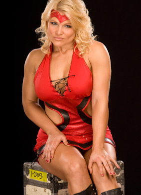 beth phoenix wallpaper probably containing bare legs, a leotard, and tights titled Beth Phoenix Photoshoot Flashback