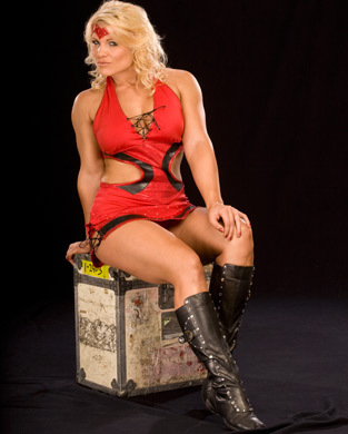 beth phoenix achtergrond containing a hip boot called Beth Phoenix Photoshoot Flashback