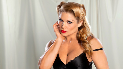 beth phoenix wallpaper probably containing attractiveness, a bustier, and a chemise titled Beth Phoenix