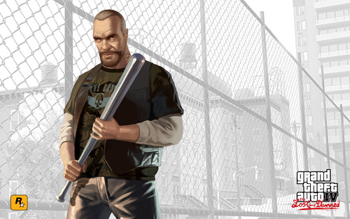 Grand Theft Auto IV The Lost And Damned Hintergrund containing a chainlink fence called Billy Hintergrund