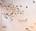 Birds Of Lovesong Sing amor Song With the Birds muro Sticker