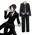 Black Butler Kuroshitsuji Sebastian Michaelis Cosplay Costume - cosplay photo