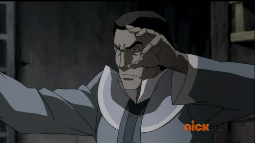 Blood bending: Legend of Korra