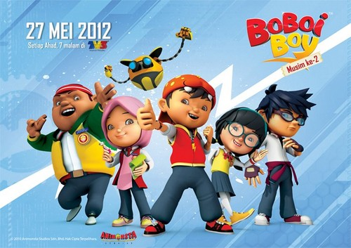 Boboiboy wallpaper with anime titled Boboi Boy Musim Ke-2