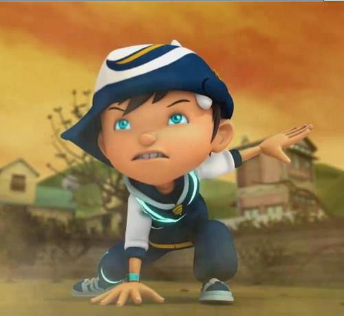 波波仔(boboiboy) 壁纸 titled Boboi Boy season 2 BBB Hurricane