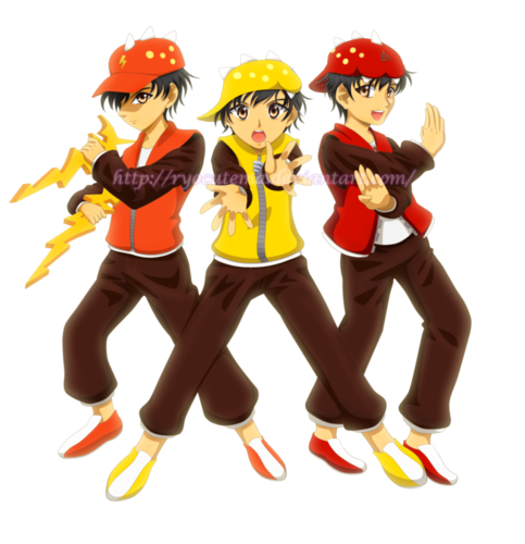 波波仔(boboiboy) 壁纸 probably containing 日本动漫 called 波波仔(boboiboy) 粉丝艺术