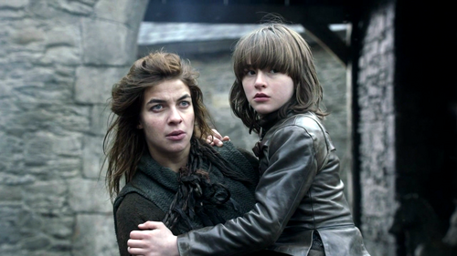 Bran and Osha - bran-stark Photo