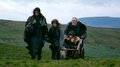 Bran and Rickon with Osha and Hodor - bran-stark photo