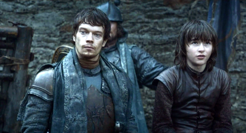 Bran and Theon