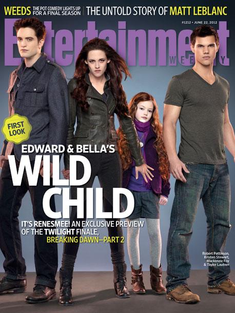 Breaking Dawn Part 2 EW magazine covers