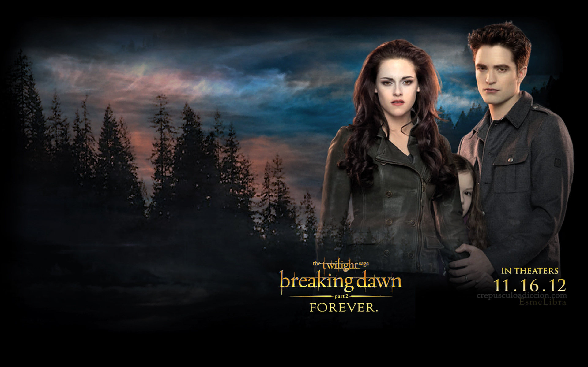 Twilight Series Breaking Dawn Part 2 Wallpaper