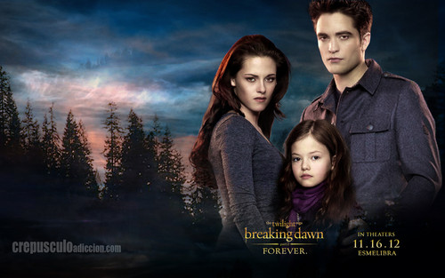 Twilight Series wallpaper probably with an outerwear and a portrait called Breaking Dawn Part 2 Wallpaper