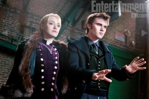 Breaking Dawn Stills ~ Jane and Alec
